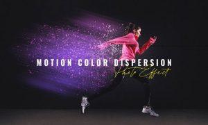 Motion Color Dispersion Photo Effect