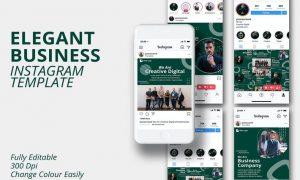 MS - Elegant Business Instagram Template FTHLSVA