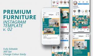 MS - Premium Furniture Instagram Template Vol.2 DKKCPVM