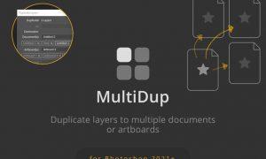 MultiDup - Batch Duplication in Photoshop U5PBRHY