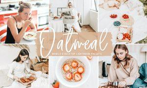 Oatmeal Mobile & Desktop Lightroom Presets