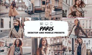 Paris Lightroom Presets