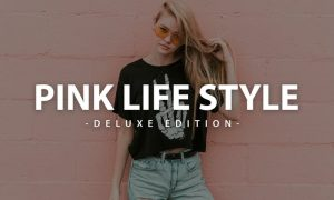 Pink Lifestyle Deluxe Edition   For Mobile and Des