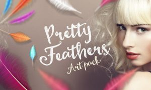Pretty Feathers Art Pack 3MLVAE