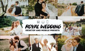 Royal Wedding Lightroom Presets