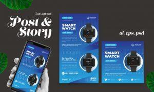 Smart Watch Instagram Post Story 6HQZKVH