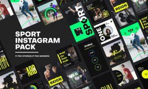 Sport Instagram Pack 4DH78AN