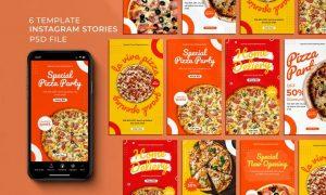 Store Food Instagram Stories 6DDWN6T