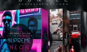 Supreme Bundle – Photoshop Actions 28445706
