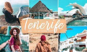 Tenerife Mobile & Desktop Lightroom Presets