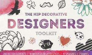 The Hip Decorative Toolkit 344M4H