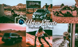 Urban Effects Photoshop Actions