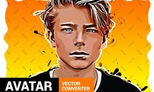 Vector Converter - Avatar - Photoshop Plugin FMYGAEV