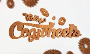 Vintage Cogwheels Bundle  J983B2