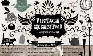 Vintage Eccentric Designers Toolkit 3EAHHR