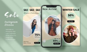Winter Sale Instagram Story - Vol 01 EGRZCKU