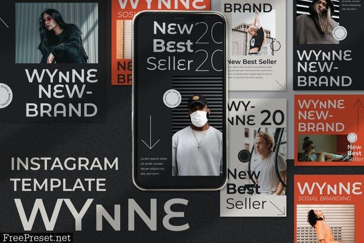 Wynne Instagram Template C4QJWNS