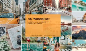 05. Wanderlust Blogger Presets