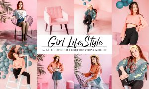 10 Mobile & Lightroom Girl Lifestyle 5997403