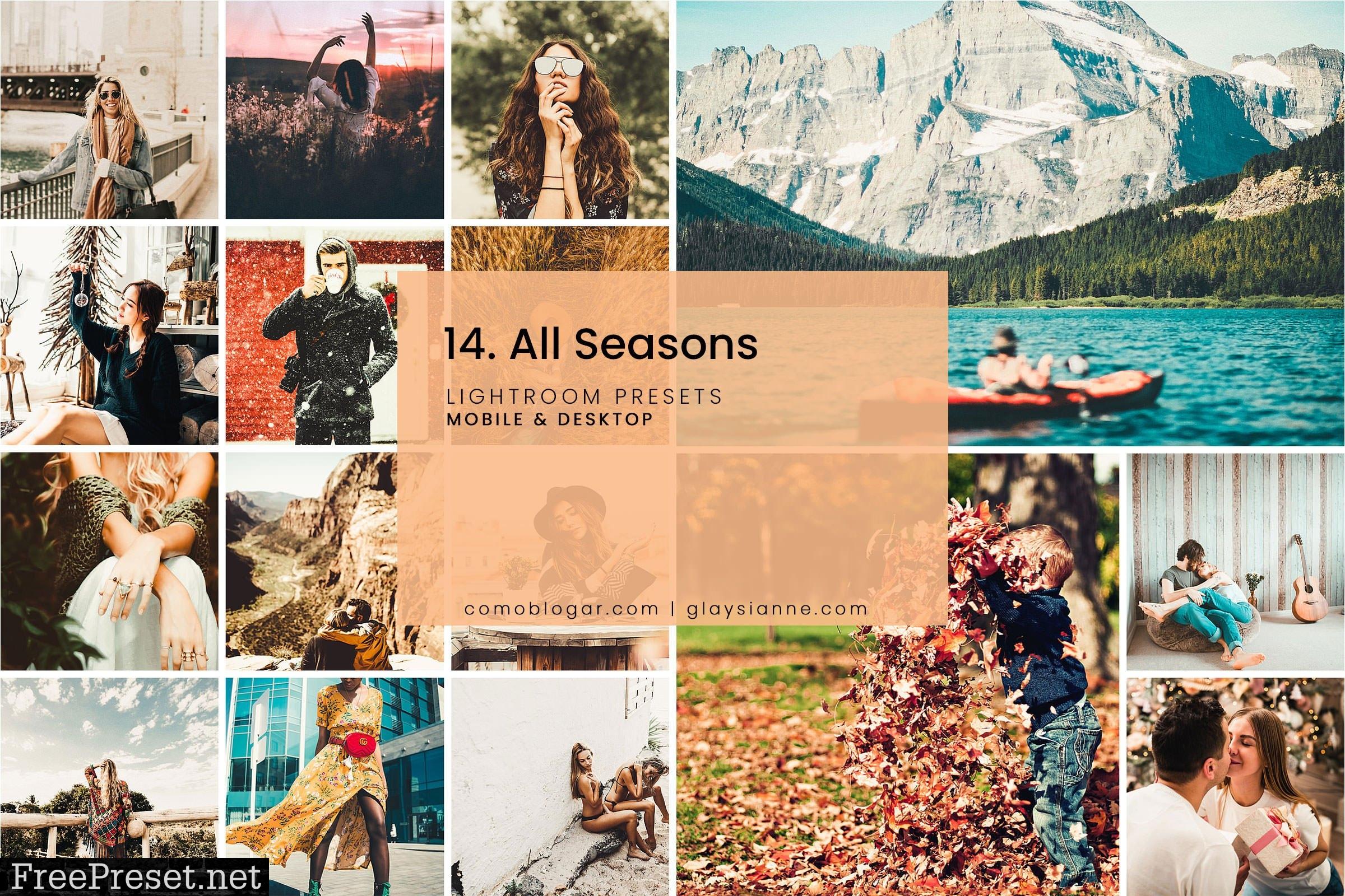 14. All Seasons - Lightroom Presets