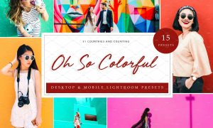 15 Lightroom Presets, Oh So Colorful 5962681
