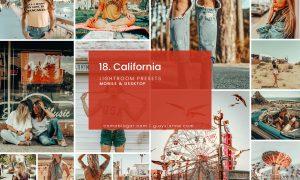 18. California - Lightroom Presets