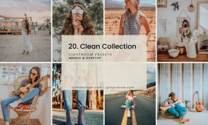 20. Clean Collection
