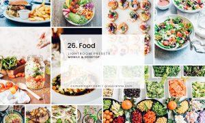 26. Food - Lightroom Presets
