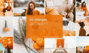 40. Oranges (Tezza Vibes) Lightroom presets