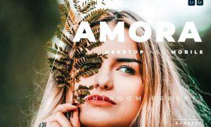 Amora Desktop and Mobile Lightroom Preset