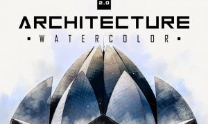 Architecture Watercolor 2.0 - Photoshop Tool