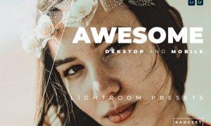 Awesome Desktop and Mobile Lightroom Preset