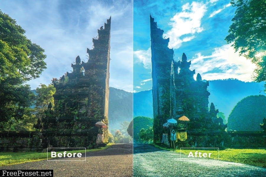 Bali Desktop and Mobile Lightroom Preset