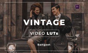 BangPreset Vintage Video LUTs