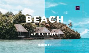 Bangset Beach Video LUTs