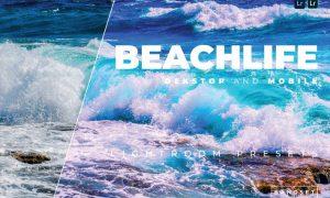 Beachlife Desktop and Mobile Lightroom Preset