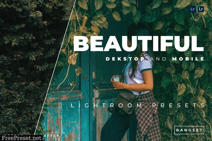 Beautiful Desktop and Mobile Lightroom Preset
