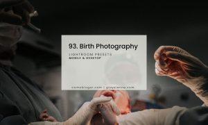 Birth Photography Presets
