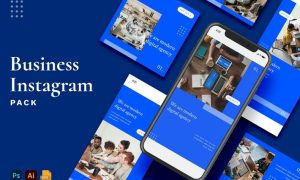Business Instagram Stories & Post Pack QWMY687