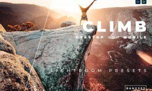 Climb Desktop and Mobile Lightroom Preset
