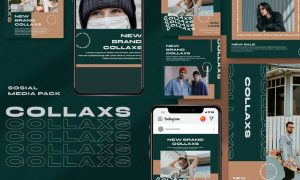 Collaxs Instagram Template AW8HKYP