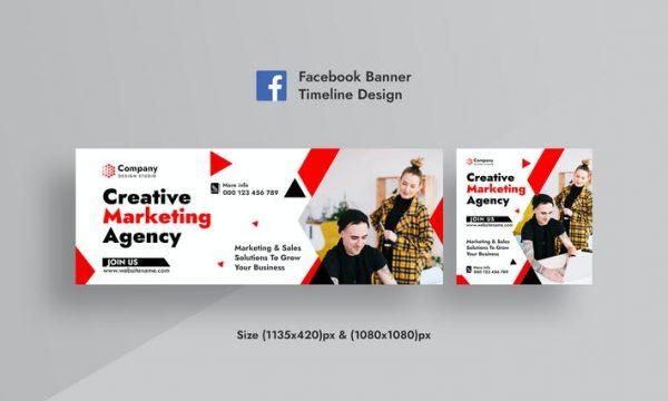 Creative Agency Facebook & Instagram AD Web Banner DZ2WFXK