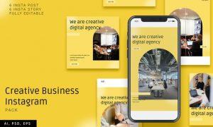 Creative Business Instagram Pack VTTBEHA