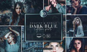 DARK BLUE - Lightroom Presets 6015455