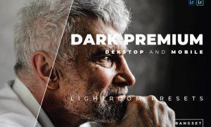 Dark Premium Desktop and Mobile Lightroom Preset