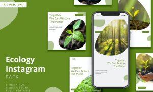 Ecology Instagram Stories & Post Pack VM98NT7