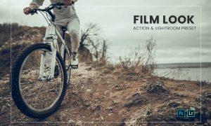 Film Look Effect Action & Lightroom Preset