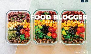 Food Blogger Desktop and Mobile Lightroom Preset