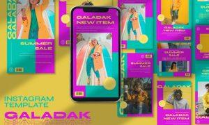 Galadak Instagram Template FG7KM5P