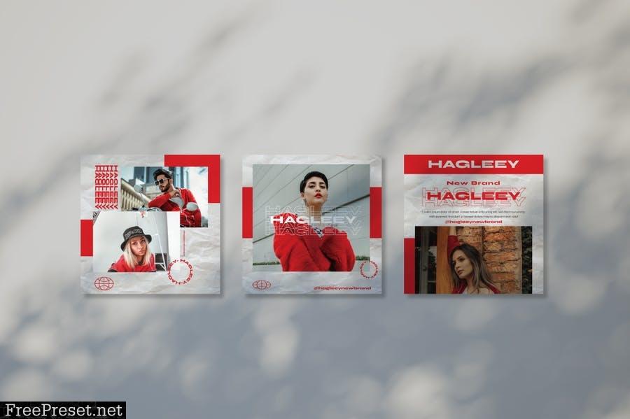 Hagleey Instagram Template TDTHRCX